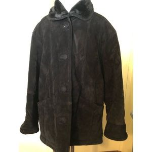 Gallery Genuine Leather Coat